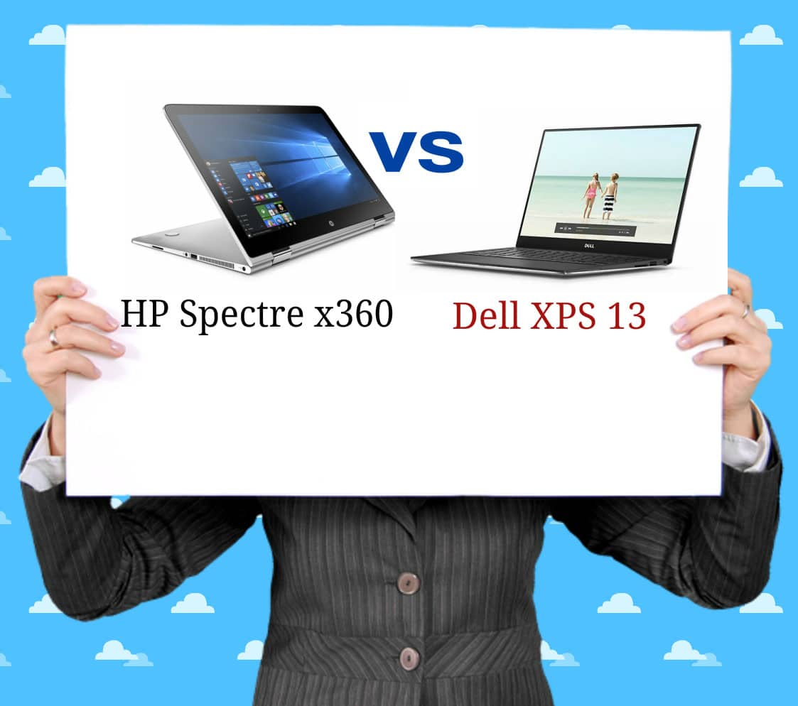 HP Spectre x360 vs Dell XPS 13