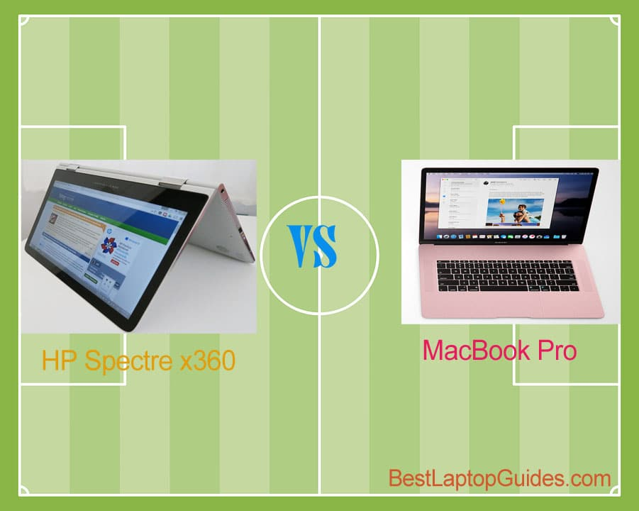 HP Spectre x360 vs Macbook Pro