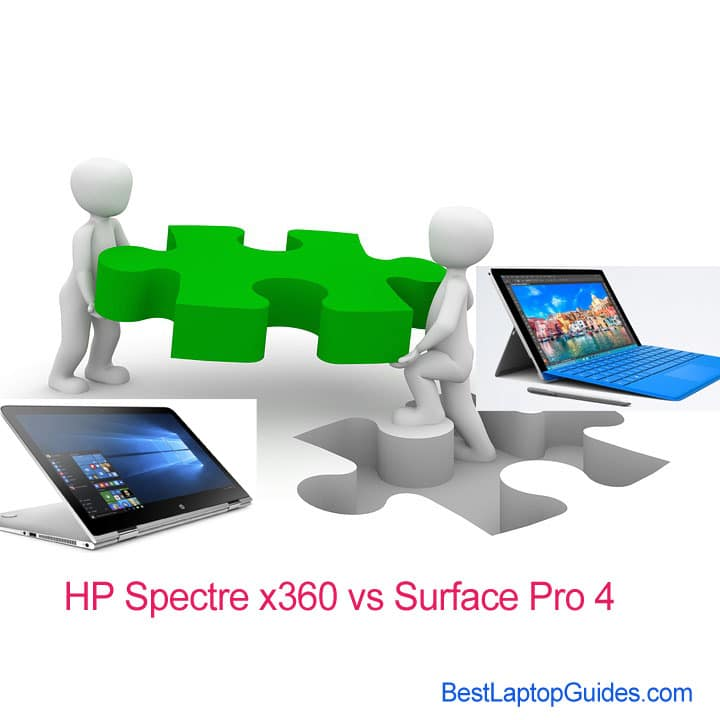 HP Spectre x360 vs Surface Pro 4