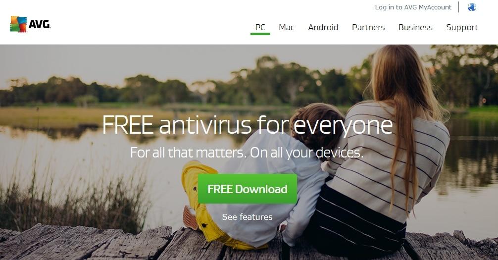 AVG AntiVirus Free 2016