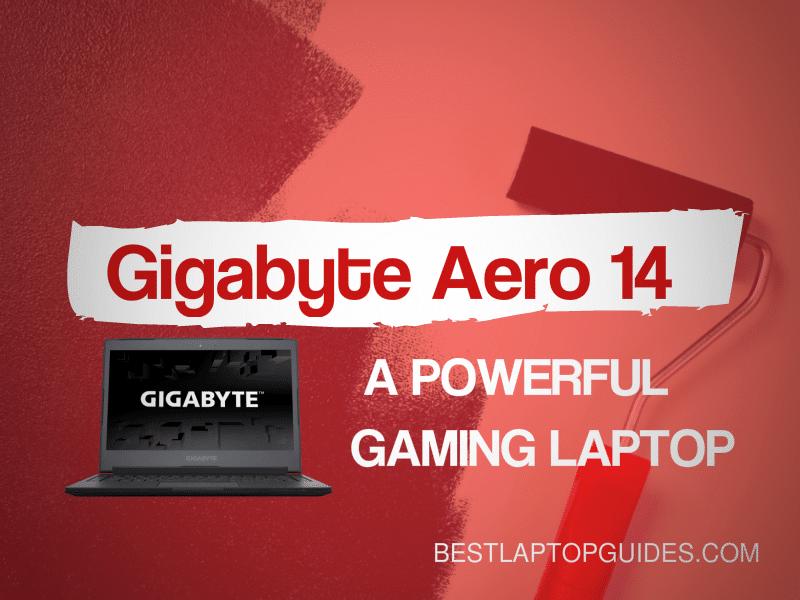 Gigabyte Aero 14