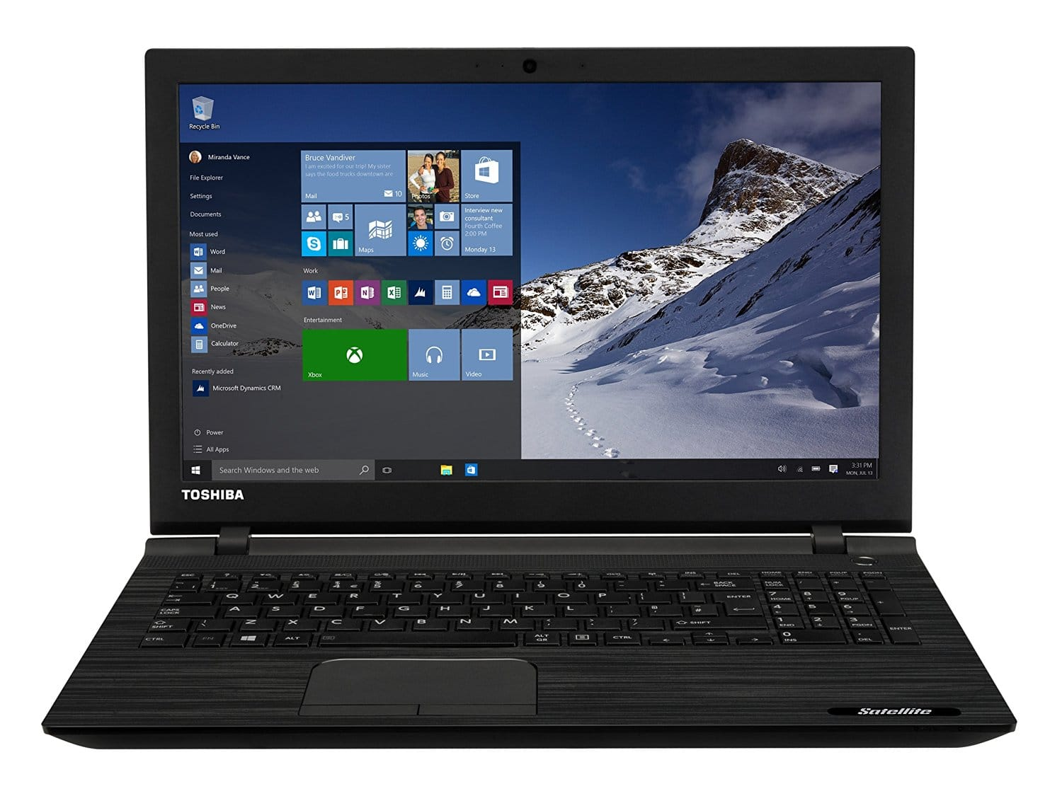 best Toshiba laptop under 400 pounds uk