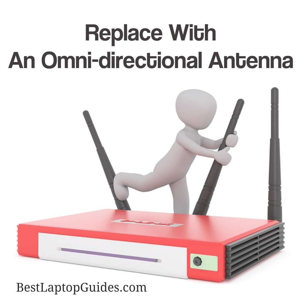 Omnidirectional Antenna Increase WiFi Speed