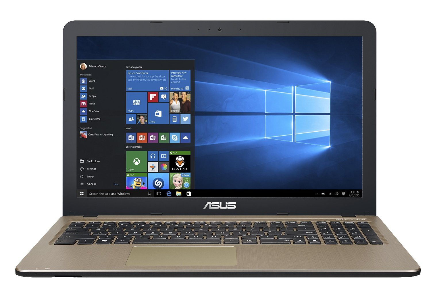 best ASUS VivoBook laptop under 700 pounds