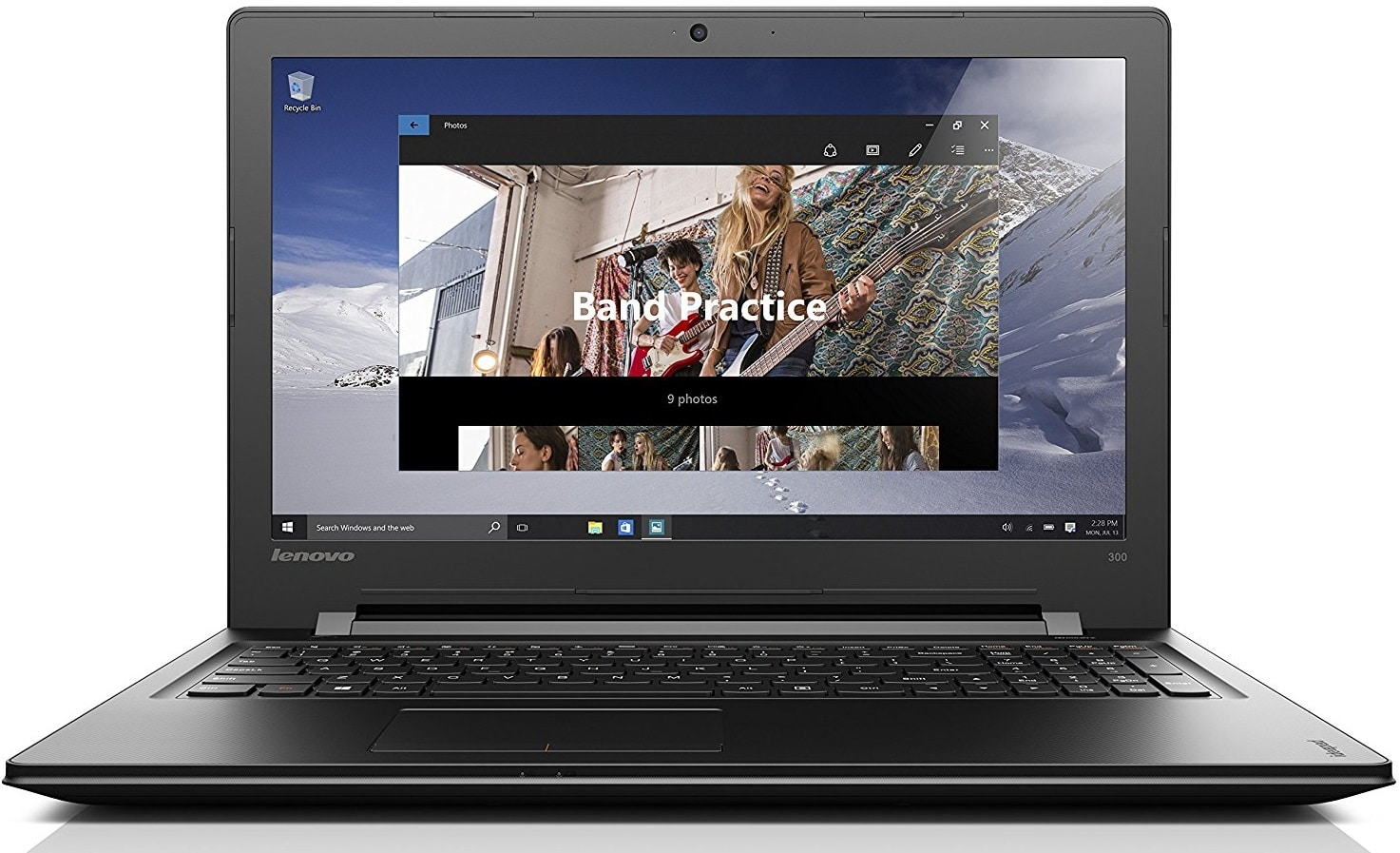 Lenovo ideapad 300 best laptop 17.3 inches under 600 pounds UK