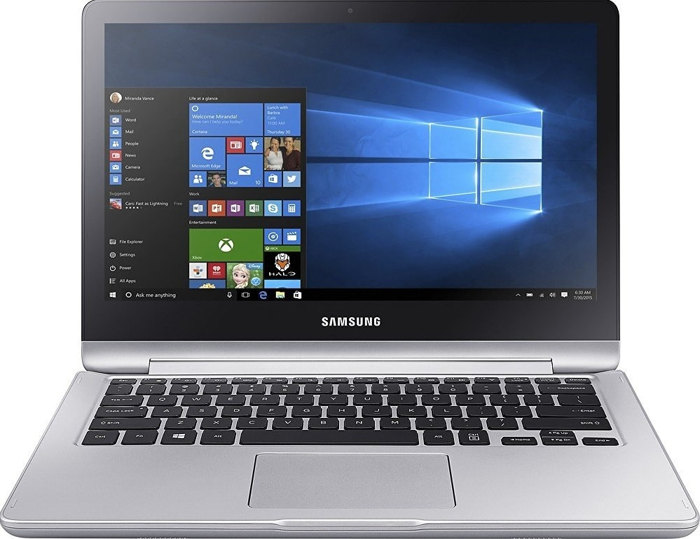 Samsung Notebook 7 Spin best laptop under 800 pounds UK