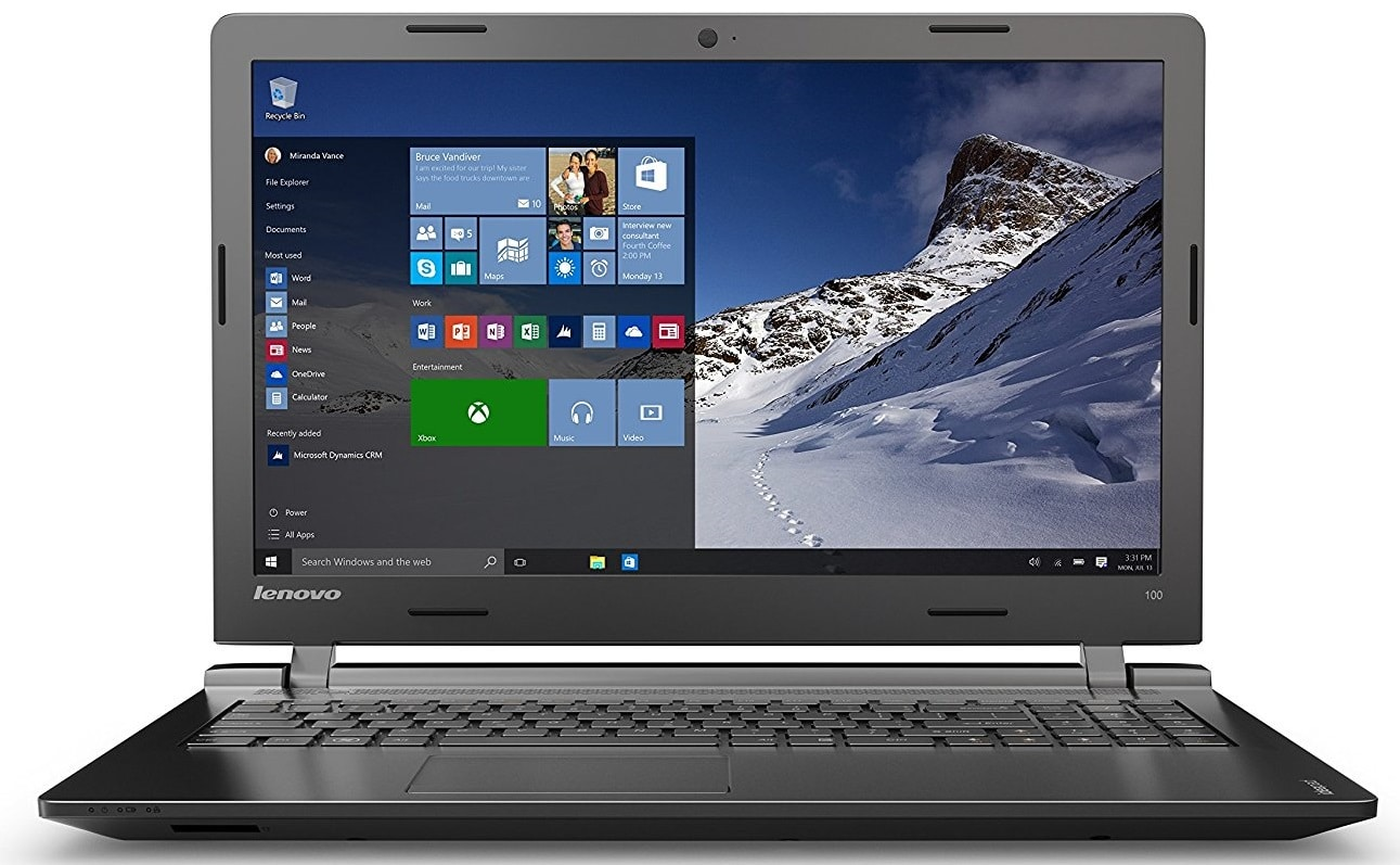 best Lenovo Ideapad 100 under 400 pounds UK