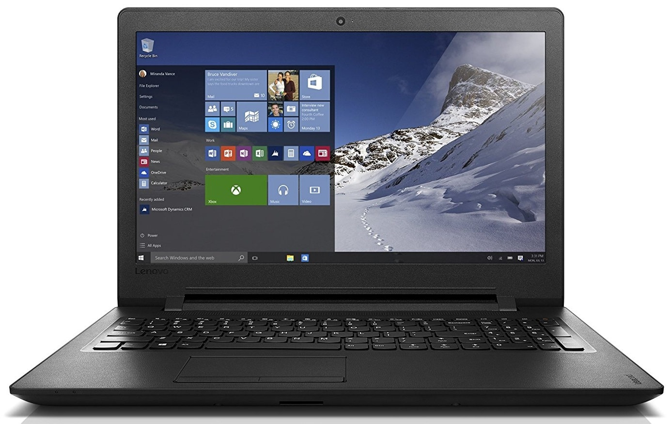best Lenovo ideapad laptop under 300 pounds UK