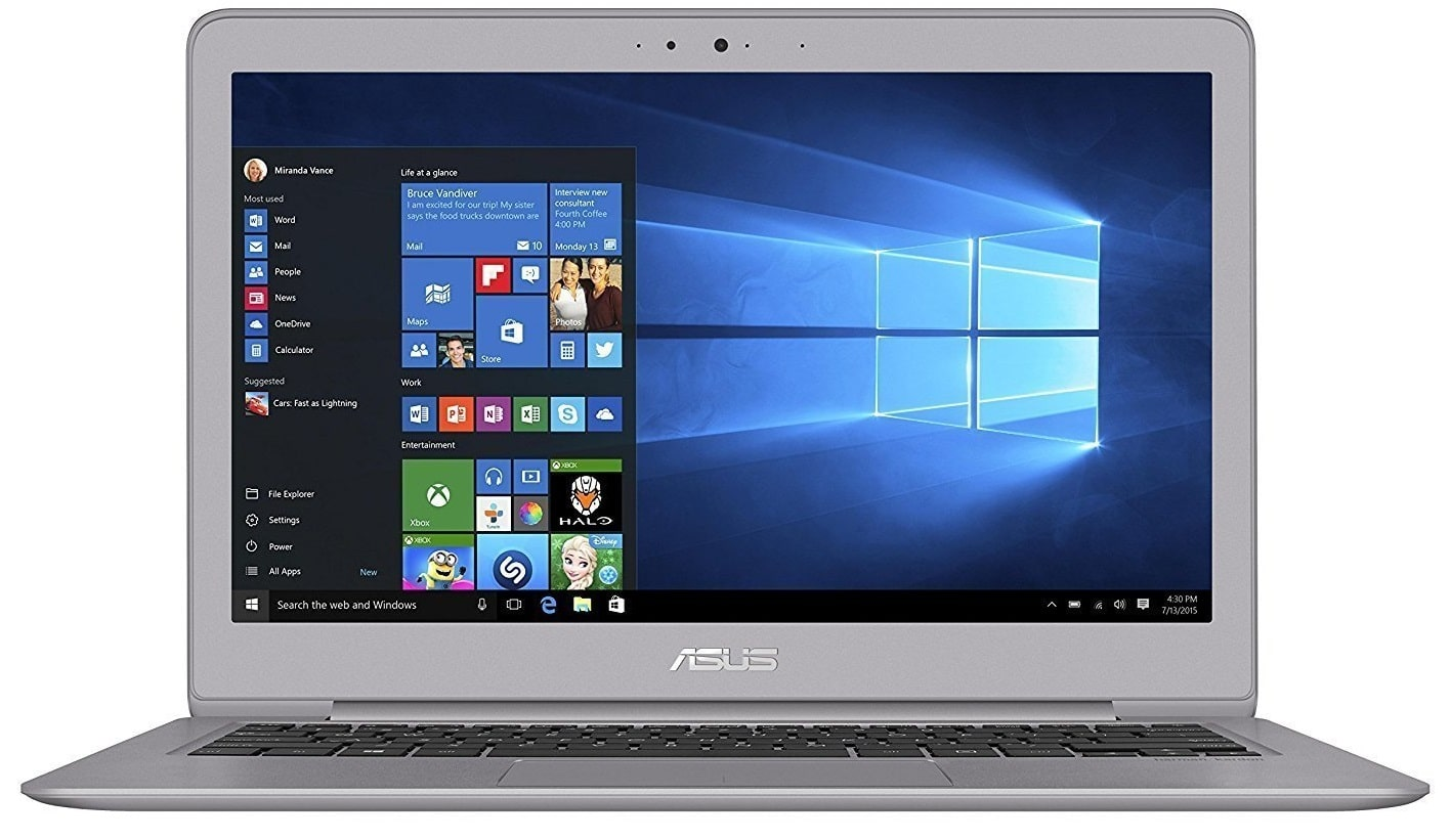 ASUS ZenBook UX310UA best laptop 700 pounds uk