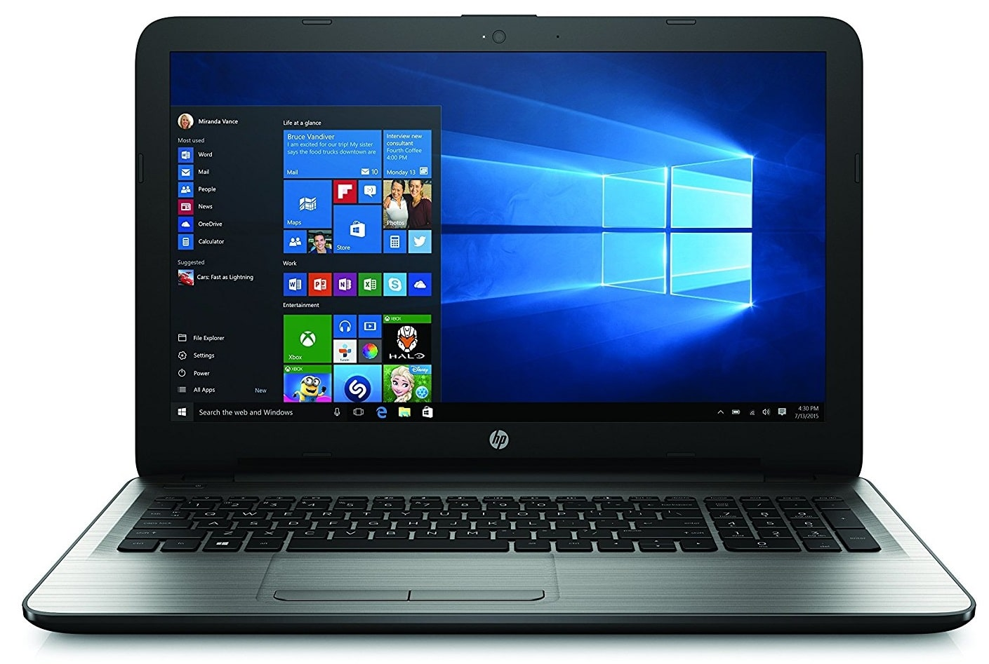 HP 15 best laptop under 400 uk