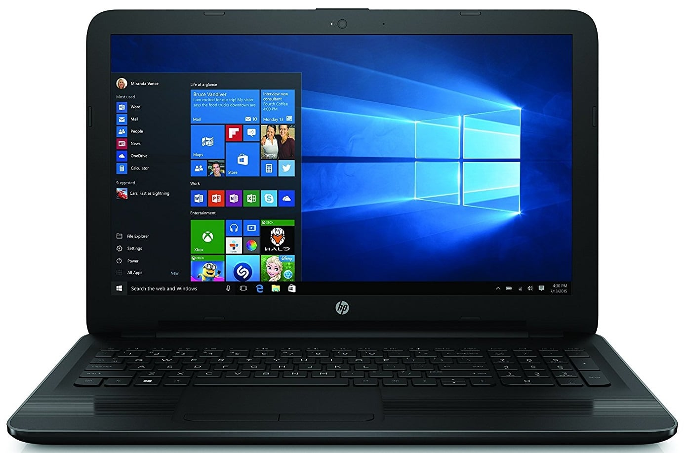 HP laptop under 400 pounds UK