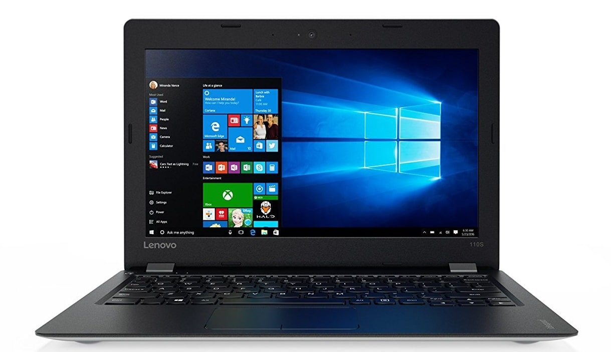 Lenovo IdeaPad 110S best laptop under 200 pounds uk