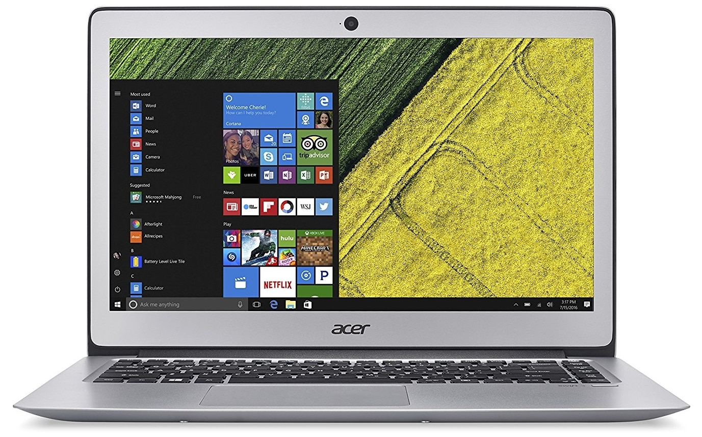 Acer Swift 3 best laptop under 600 pounds UK