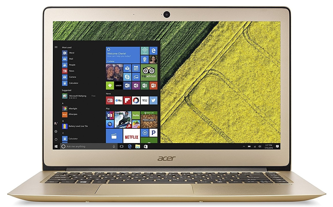 Acer Swift 3 best laptop under 700 pounds uk