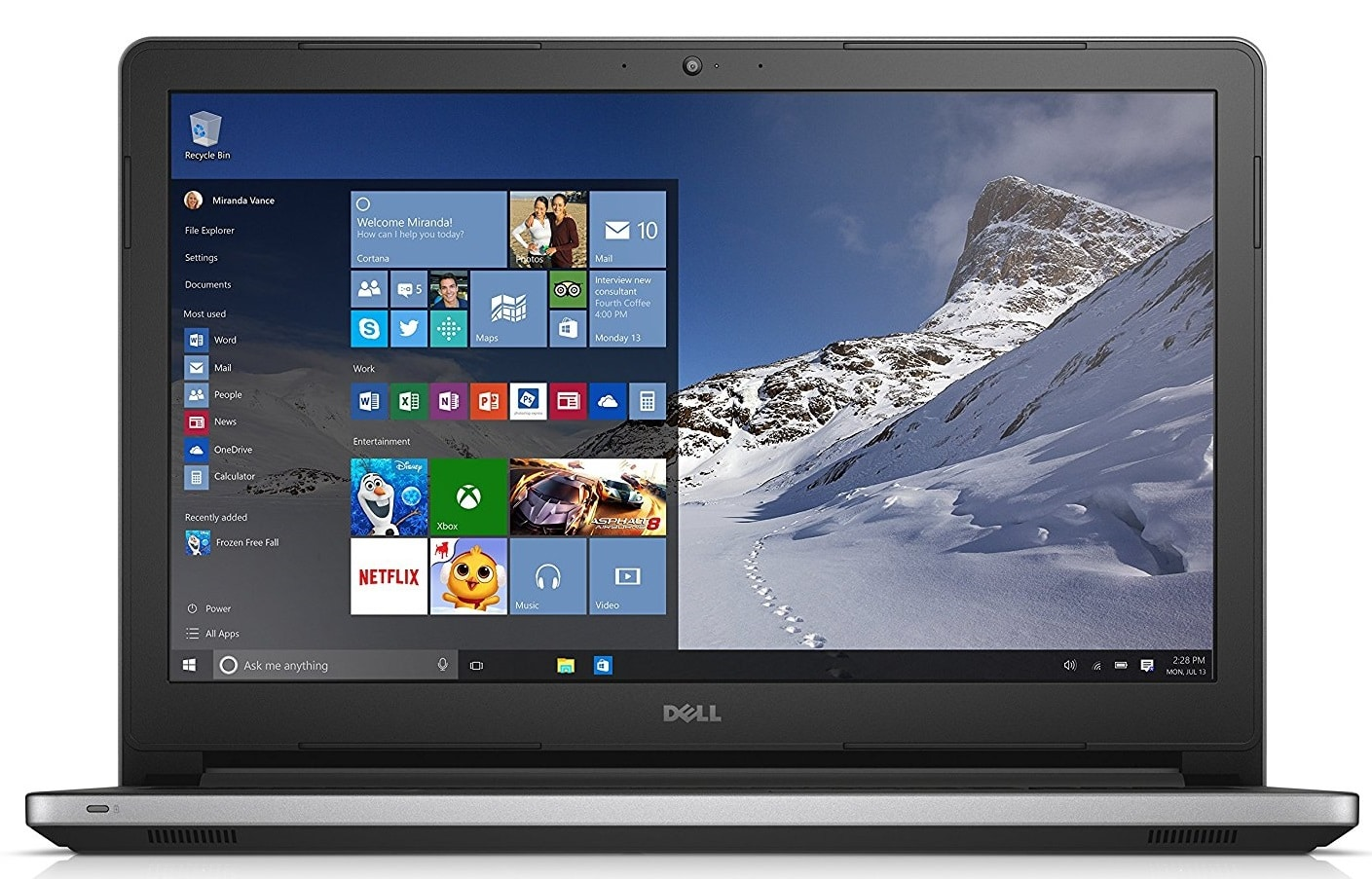 Dell Inspiron 15 5000 Series laptop under 700 pounds uk