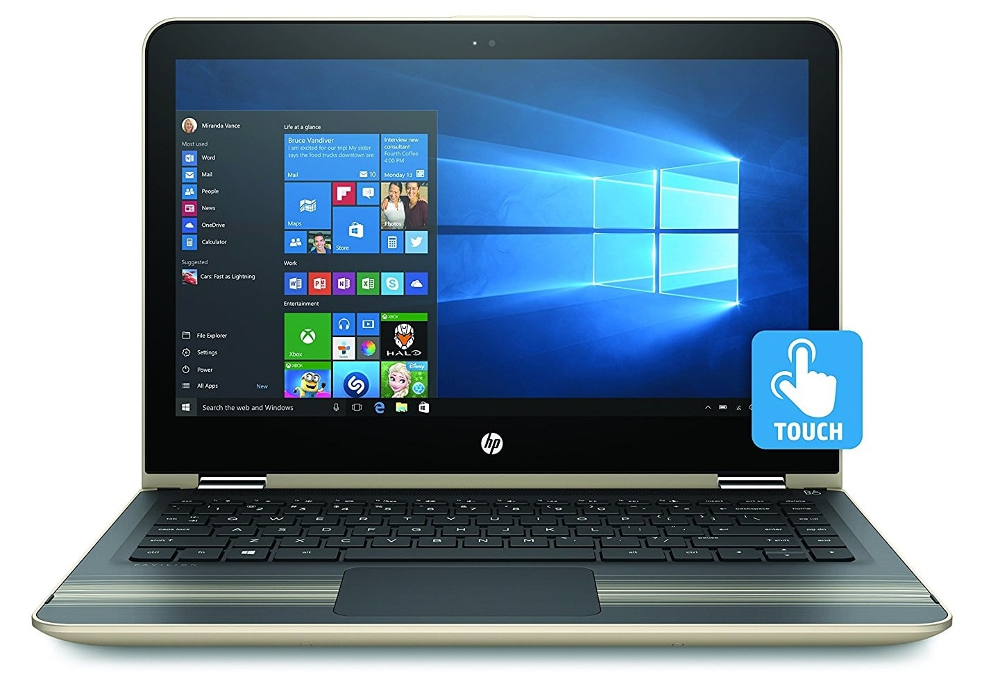 HP Pavilion x360 best laptop under 700 pounds uk
