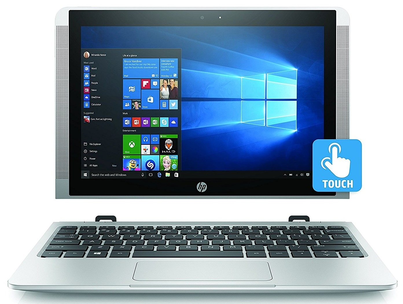 HP x2 10-p000na laptop under 300 pounds uk