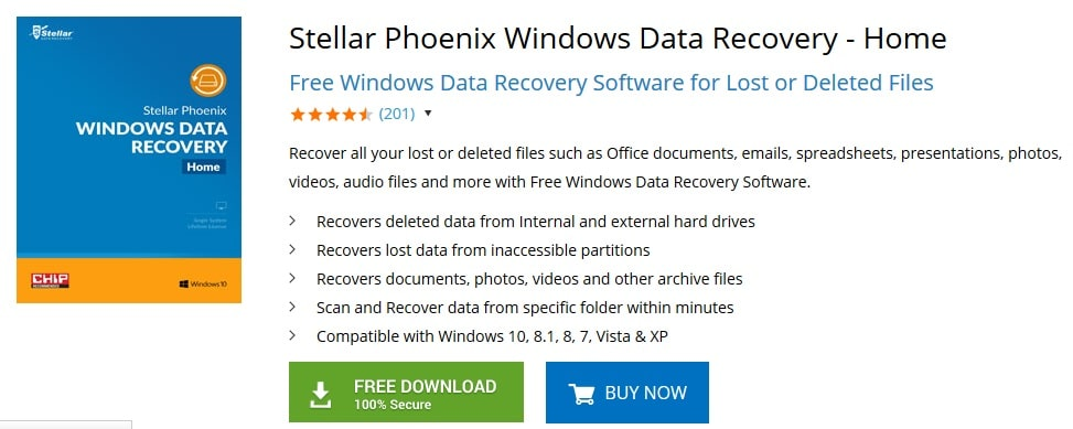 Stellar Phoenix Windows Data Recovery Download