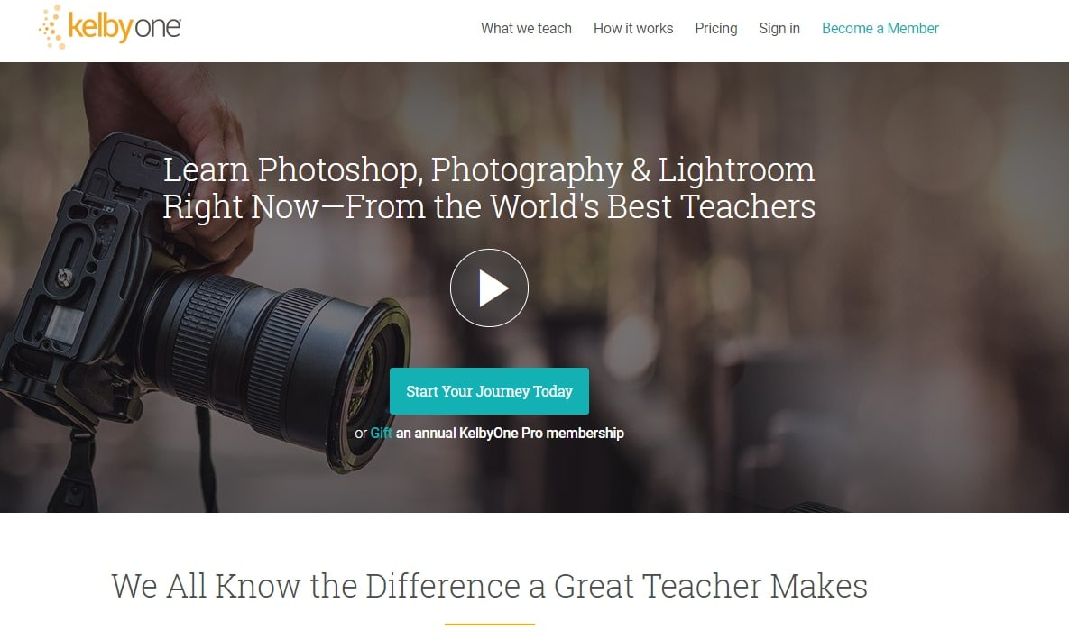 Kelbyone-Online Course Provider