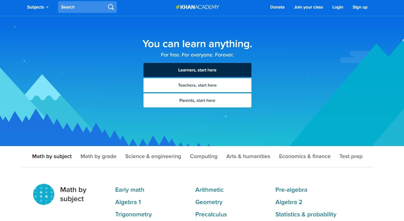 Khan Academy-Online Course Provider
