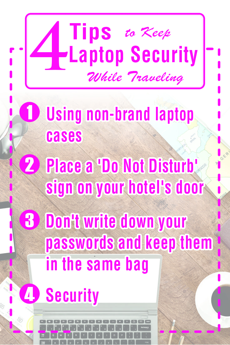 4 Tips to Keep Laptop Security While Traveling