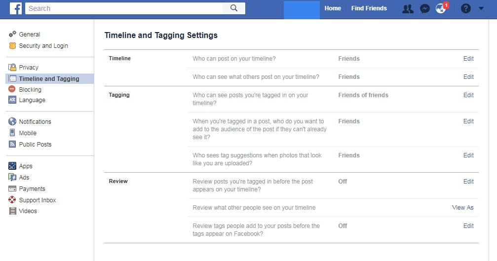 Facebook safety tips- Timeline and Tagging