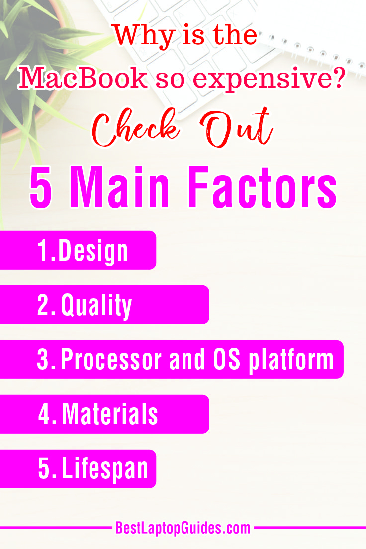 Why is the MacBook so expensive Check Out 5 Main Factors