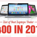 best laptop under 400 dollars in 2018