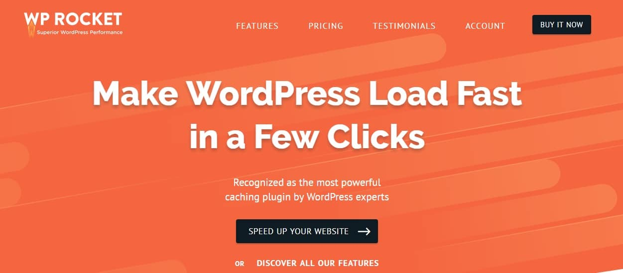 WP Rocket wordpress plugin