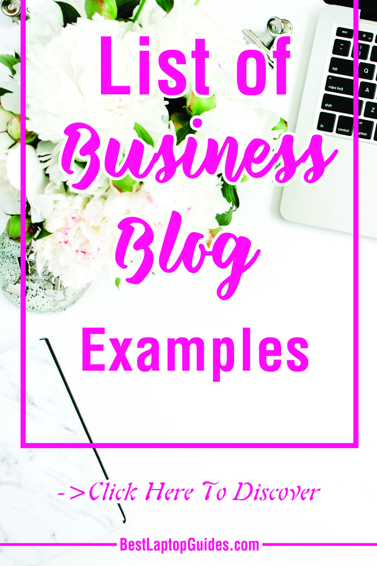List of Business Blog Examples #tech #tips #list #blog #business #example