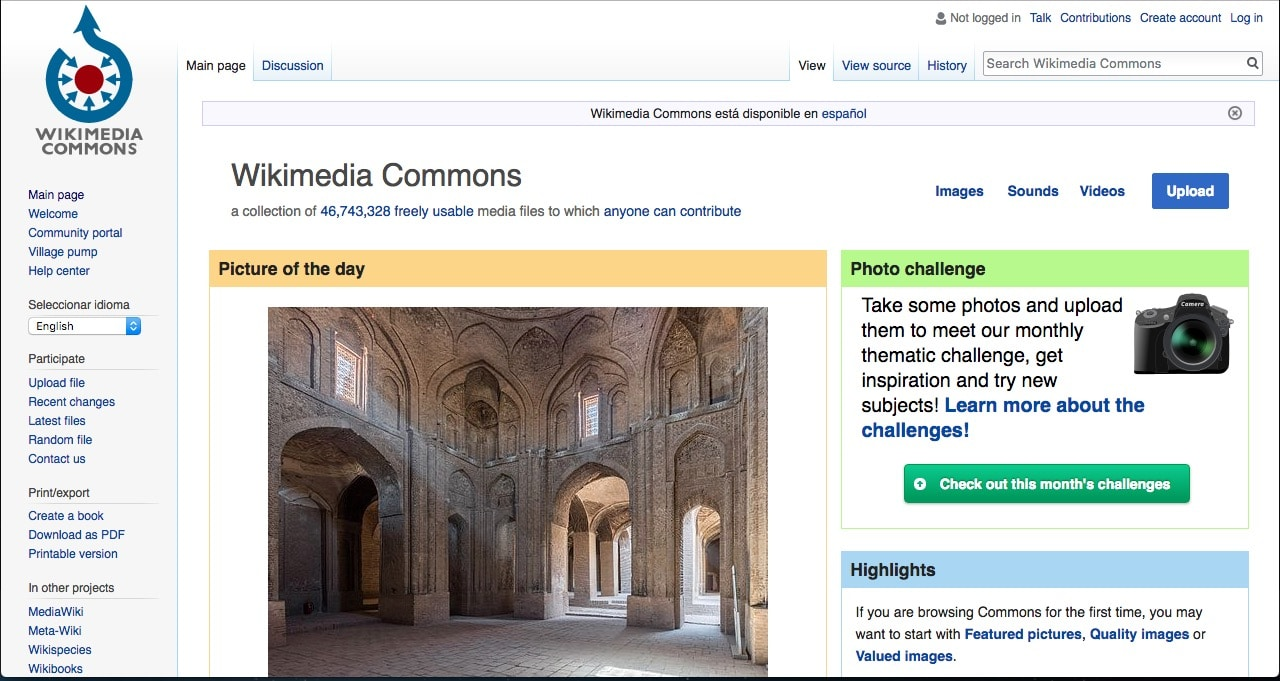 wikimedia free site images