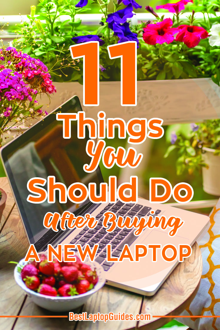 After buying a new laptop you will need to set it up with basic things before you can start using it. Follow this guide to discover #laptop #computer #internet #data #storage #tips #guide #tricks #backup #transfer #buying #tech #business #college #students