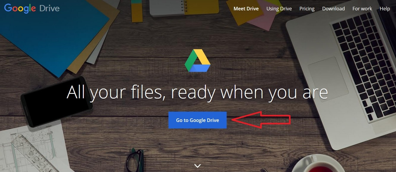 Google Drive Convert PDF to Word online