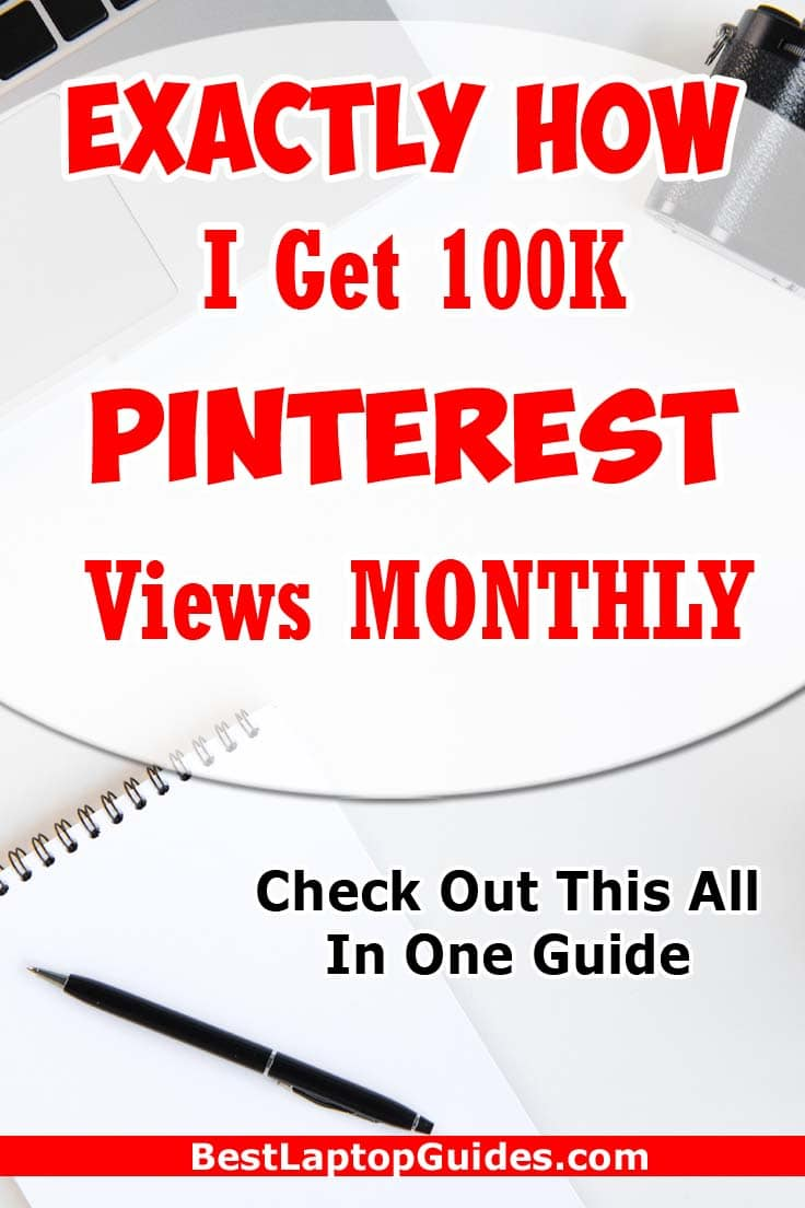 Exactly How I Get 100K Pinterest Views Monthly  #pinterest #view #traffic #free #howto #tips #guide #internet #tech #pageview