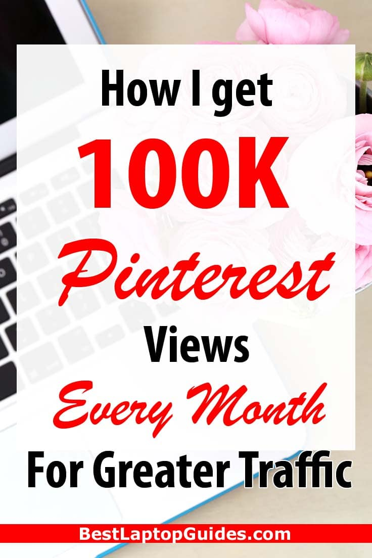 How I Get 100k Pinterest Views Every Month For Greater Traffic. Learn how to get traffic from Pinterest #pinterest #view #traffic #free #howto #tips #guide #internet #tech