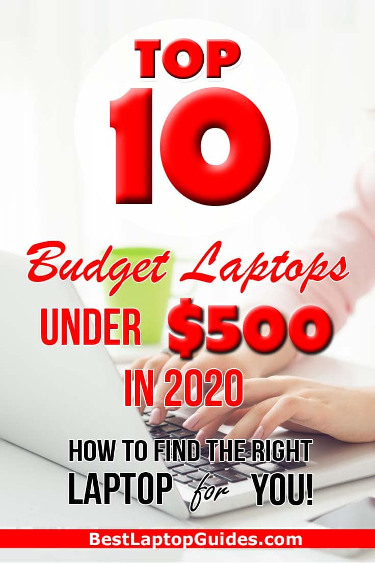 Top 10 Budget Laptops Under 500 dollars in 2020