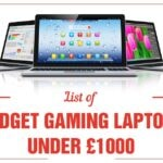list of best budget gaming laptops under 1000 pounds